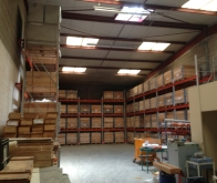 Réaménagement du local de stockage